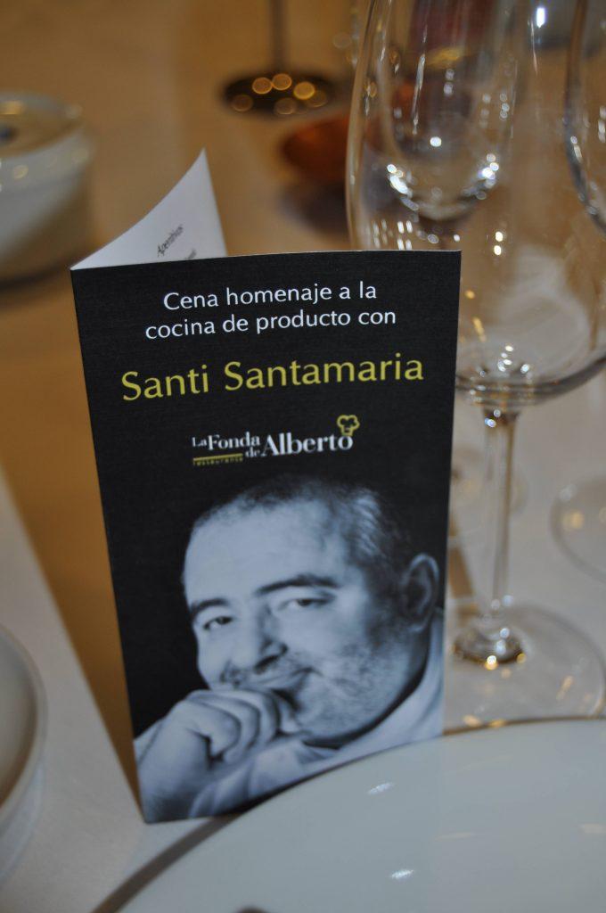 Cena Santi Santamaria